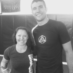Kirsty and Rener Gracie