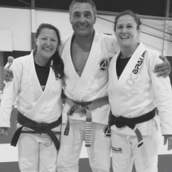 Kirsty and Rickson Gracie