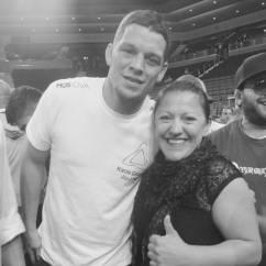 Kirsty and Nate Diaz