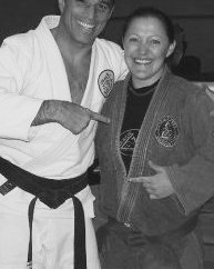 Kirsty and Royler Gracie